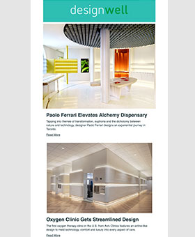 Image featuring the latest news and trends from the DesignWell newsletter.